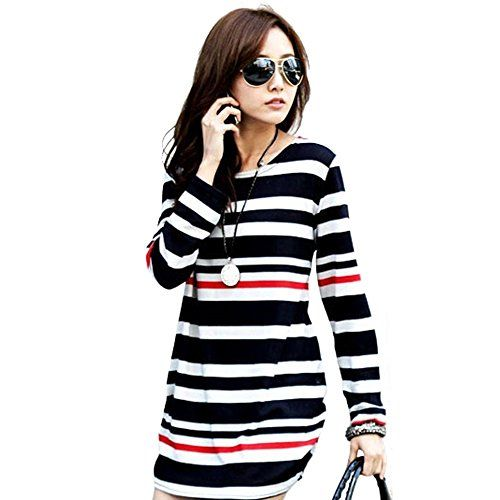 Soly Tech Women Maternity Long Sleeve Stripe Top Blouse Shirt for Pregnancy *** To view further for this item, visit the image link.Note:It is affiliate link to Amazon.