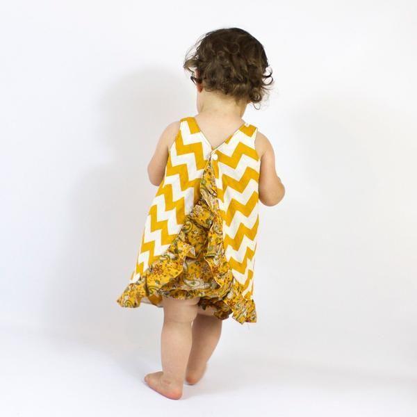 Pinafore Dress Sewing Pattern