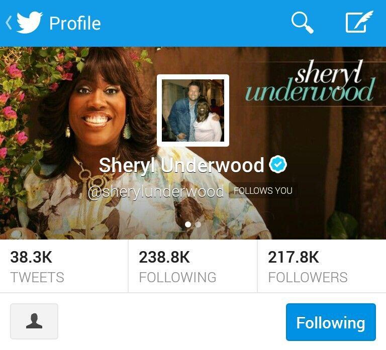 Sheryl Underwood follow