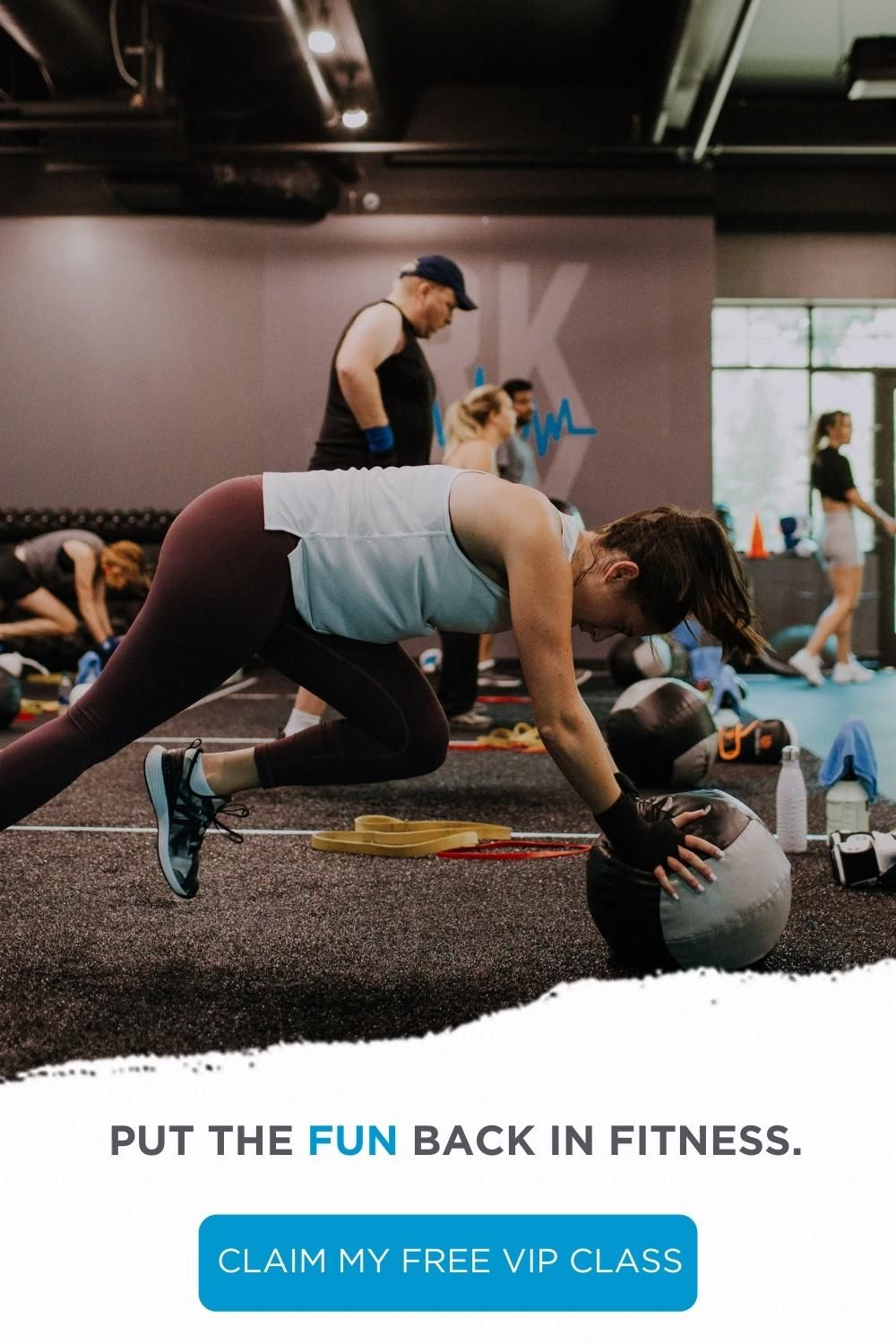 Try Your Free Vip Class Experience Today Video In 2021 Workout Routine Fitness Workout