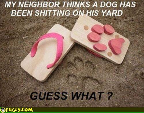My Neighbor Thinks His Neighbor Is Sane