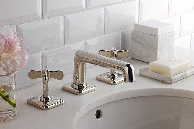 Waterworks Faucets Fixtures Fittings Bathroom Accessories Tiles Lighting Towels Robes Shower Cu Waterworks Bathroom Bathroom Plumbing Bath Faucet