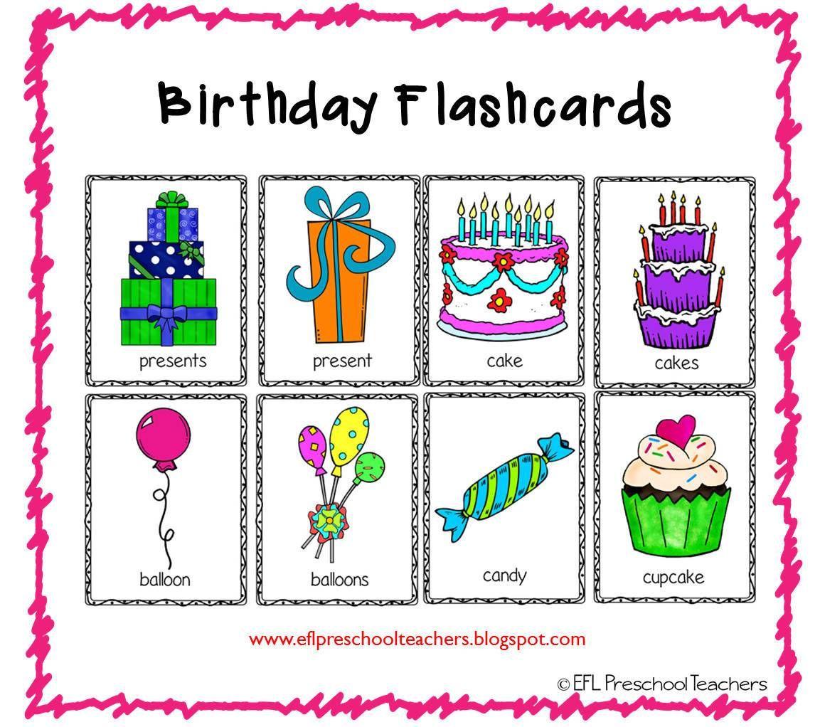 Birthday Unit Resources For Kindergarten Esl In 2021 Elementary Special Education Activities Preschool Esl [ 1022 x 1153 Pixel ]