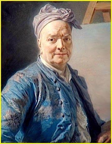 Louis de silvestre le jeune par maurice quentin de la for Artiste peintre poitiers