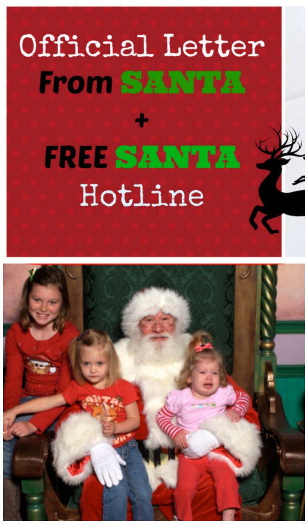 Get An Official Letter From Santa  SantaS Personal Hotline To