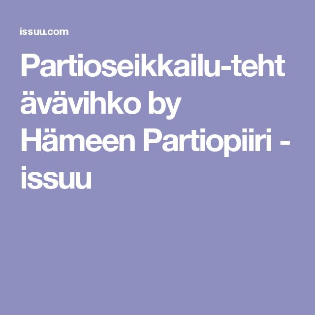 Partioseikkailu-tehtävävihko by Hämeen Partiopiiri - issuu
