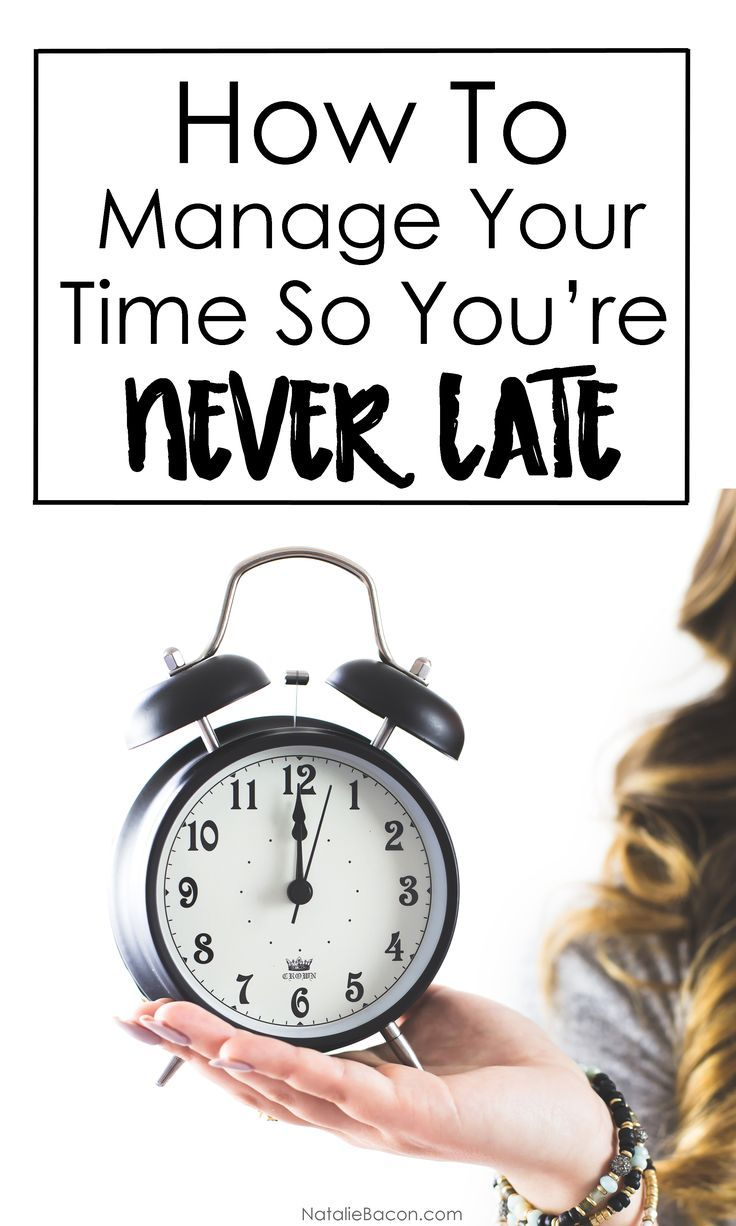 Time Management Techniques So YouRe Never Late Again  Time