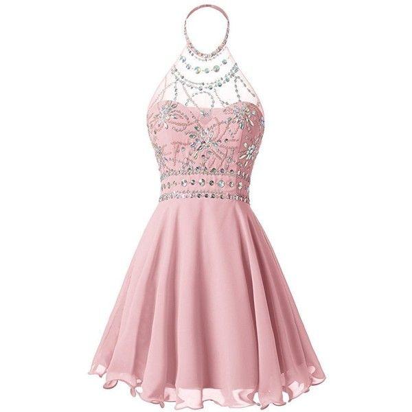 Polyvore Short Prom Dresses