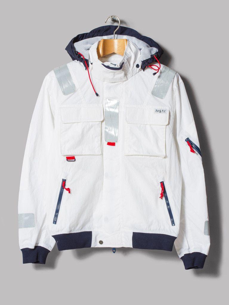 Polo Ralph Lauren Southwold Sailing Jacket (White / Navy