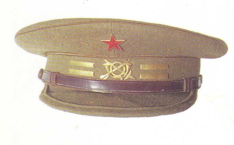 Gorra de plato de oficiales del Ejército Popular de la República   Spanish  Civil War Republican Army officers  visor cap. 39d02b91bf87