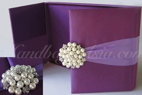 Silk Invitation Boxes Premium Invitation Template Design Bliss