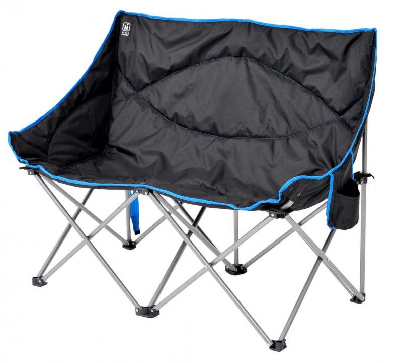 Double Camp Chair Cool Storage Furniture Folding Camping Chairs Camping Chairs Camping Furniture