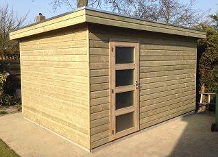 Kosten Garage Isoleren : Isolatie tuinhuis schuur garage of blokhut aanbouw