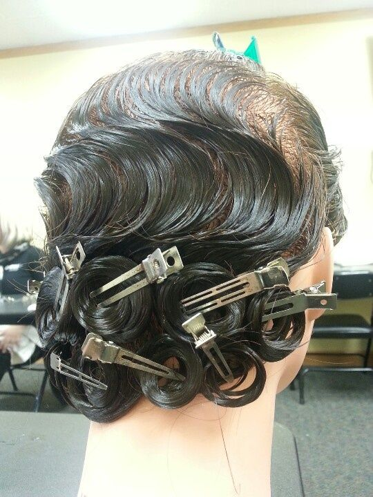 Finger Wave Hairstyles Waves And Pin Curls For S