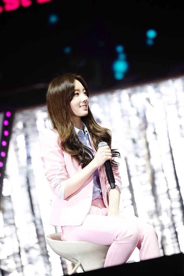 SNSD Girls Generation First Fan party in Beijing China 29/11/14 Taeyeon