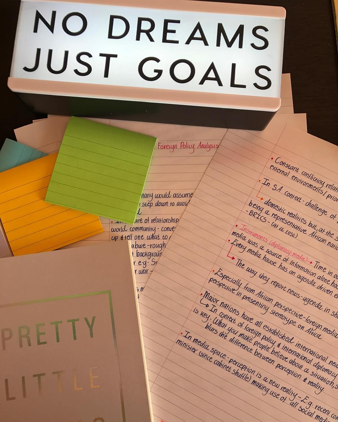 Just goals follow us motivation2study for daily