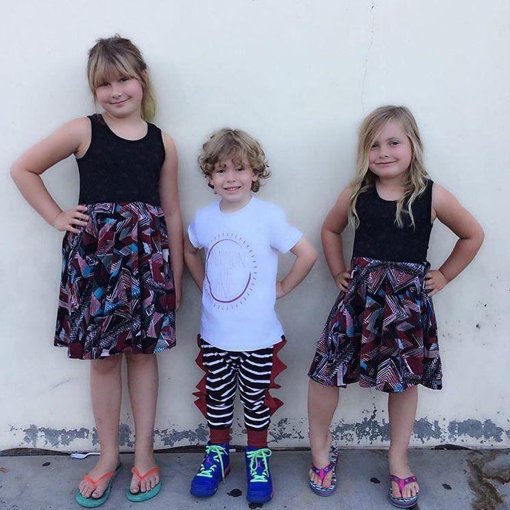 Loveeeee this  @torispelling @imdeanmcdermott #theMINIclassy #wearTMC #kidapproved #kidsfashion #MINIswag #cool #lovethis