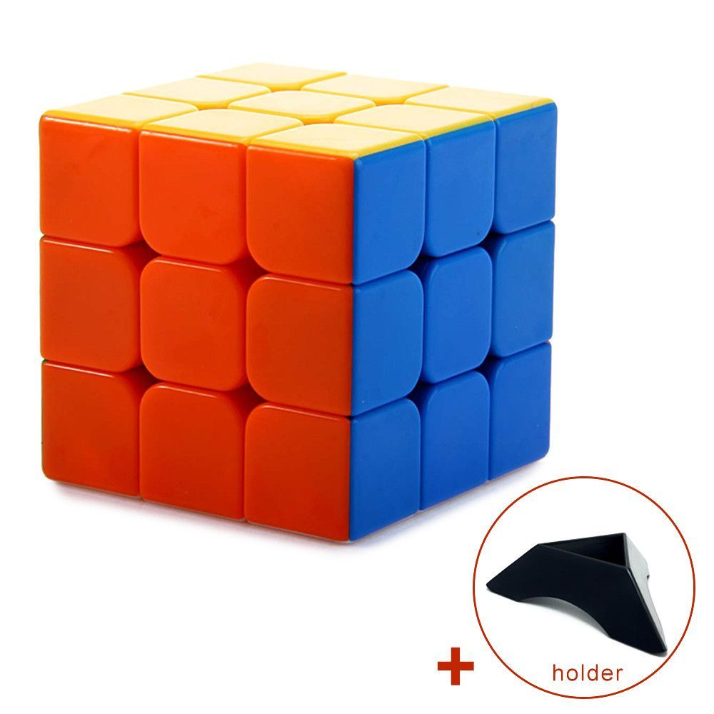 Professional Speed Fantasy 3x3x3 Magic Cube Keyring Puzzle Keychain Speed Toy Three Layers Magic Cubes Brain Teaser Gift