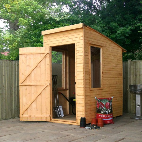 Woodland Trust 6 X 4 Kurva Curved Roof Shed On Walton Garden Buildings Building A Shed Building A Shed Base Small Garden Shed