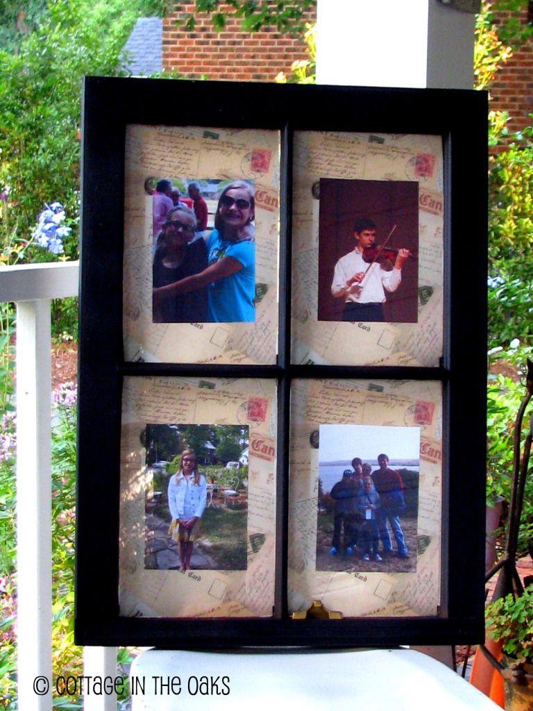 6 pane window ideas  window frame  projects  pinterest  window frames window and craft
