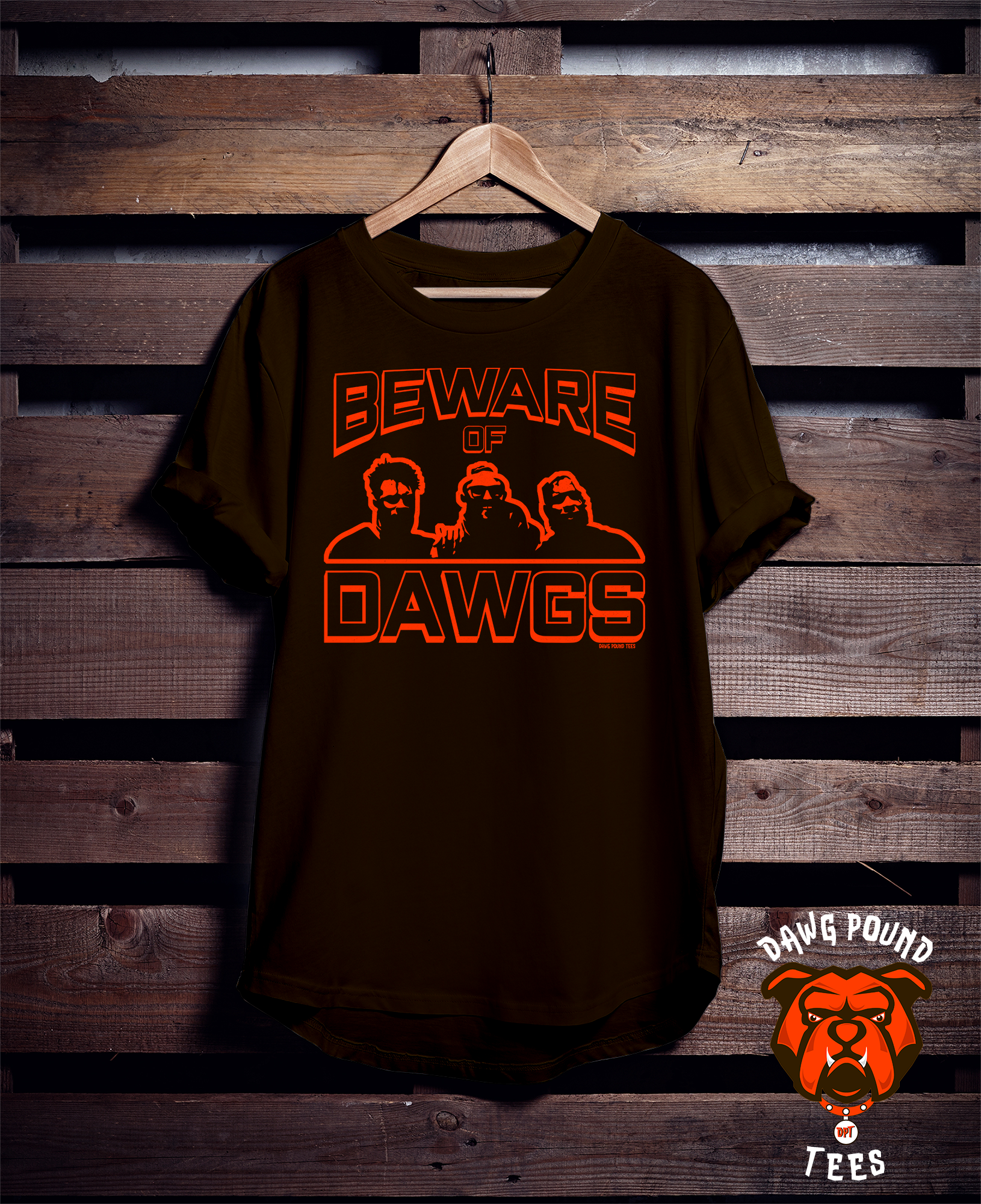 Beware of Dawgs tshirt from Dawg Pound Tees. Great shirt