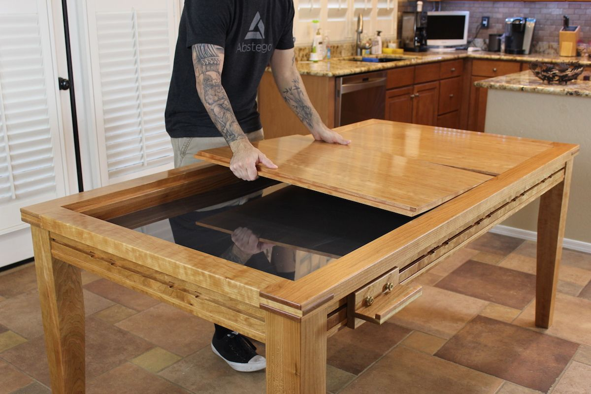 Gaming Dining Table Wood Table Design Game Room Design High