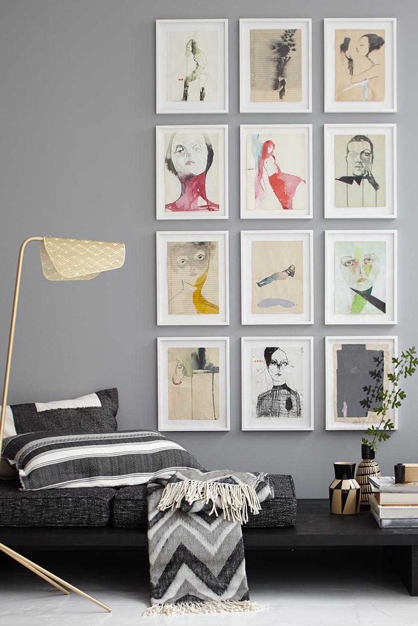 Mit Bildern dekorieren: Ideen zum A