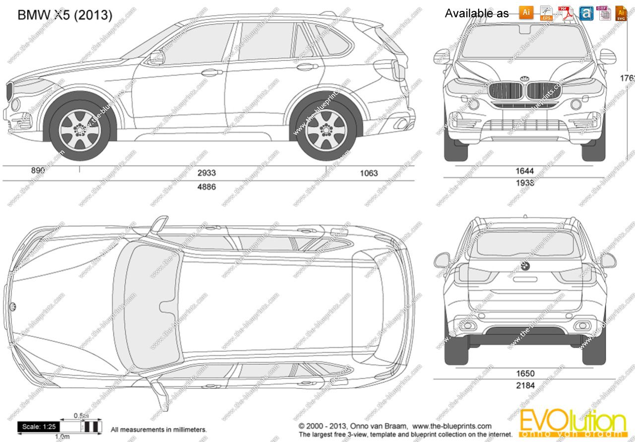 The blueprints vector drawing bmw x5 f15 kgfkbfh the blueprints vector drawing bmw x5 f15 malvernweather Choice Image
