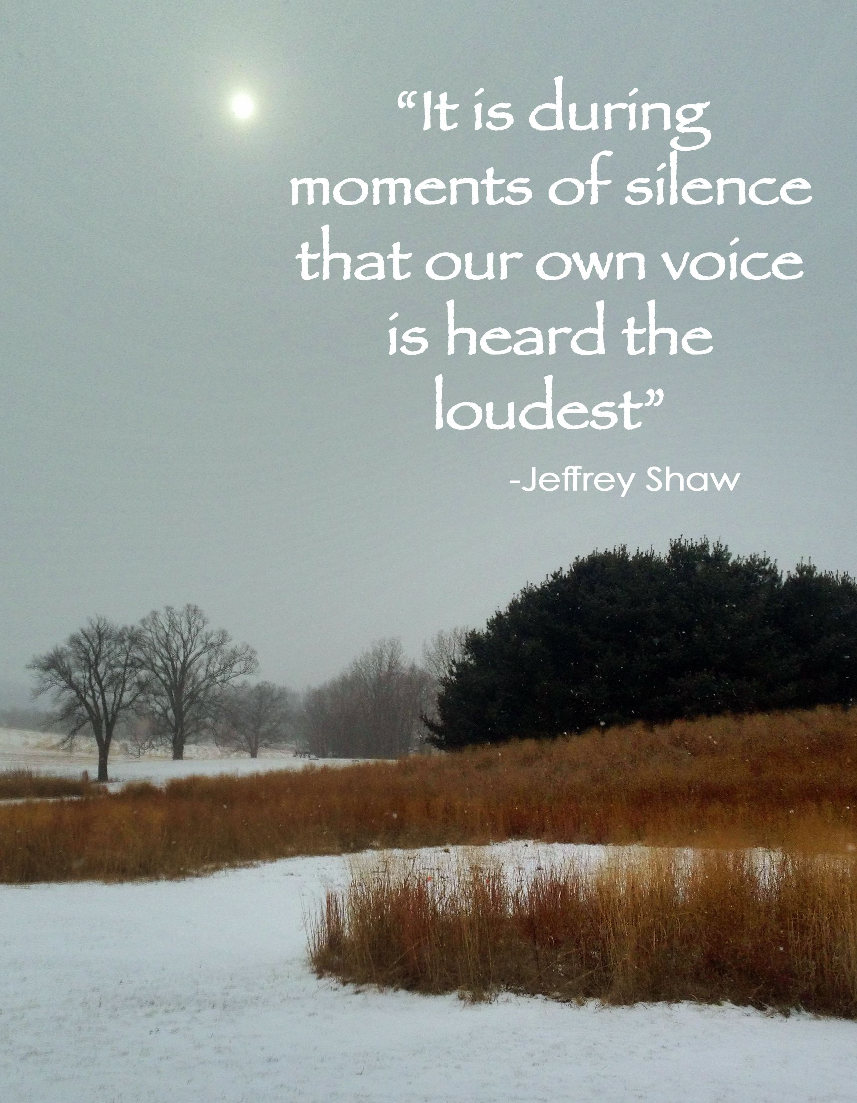 Quotes On Solitude What I Love Most About Winter Solitude And Time For