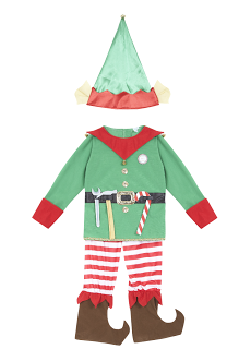 Christmas fancy dress | christmas elf outfit | sainsburys | V.I. ...