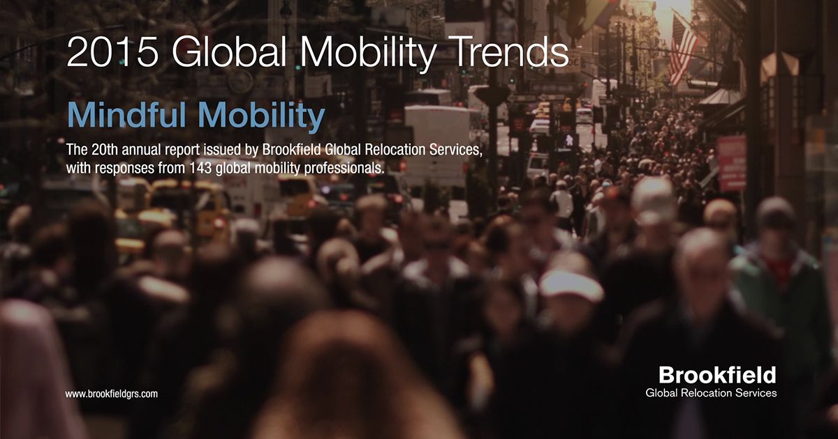 2015 #Global Mobility Trends Mindful #Mobility - Key
