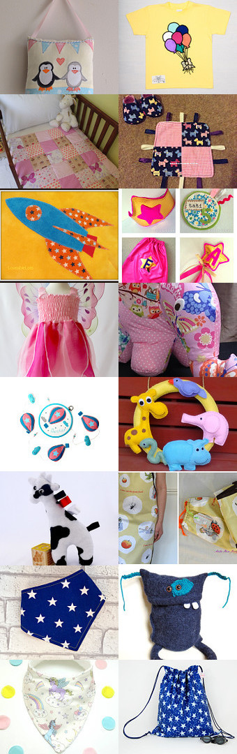 Sewing Bee for Children! by Katie Leversuch on Etsy