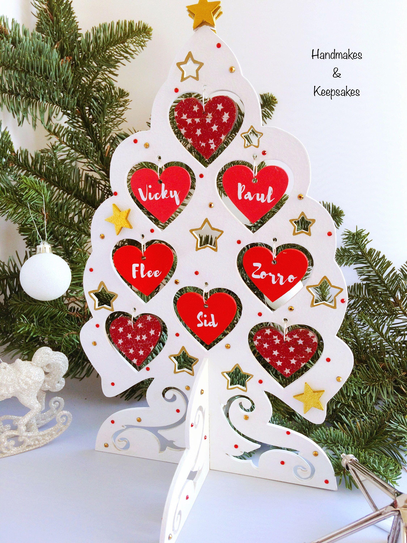 christmas family tree christmas decoration personalised christmas gift personalised family