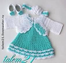 Resultado De Imagen Para Vestidos Para Bebe Tejidos