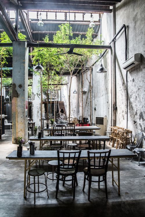 Interesting House Exterior Design In Kulai Malaysia: Spacebar Specialty Coffee Georgetown Penang