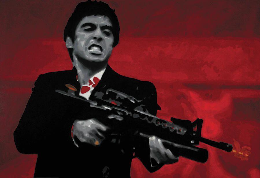 Say Hello My Little Friend Tony Montana Scarface Iconic Movies