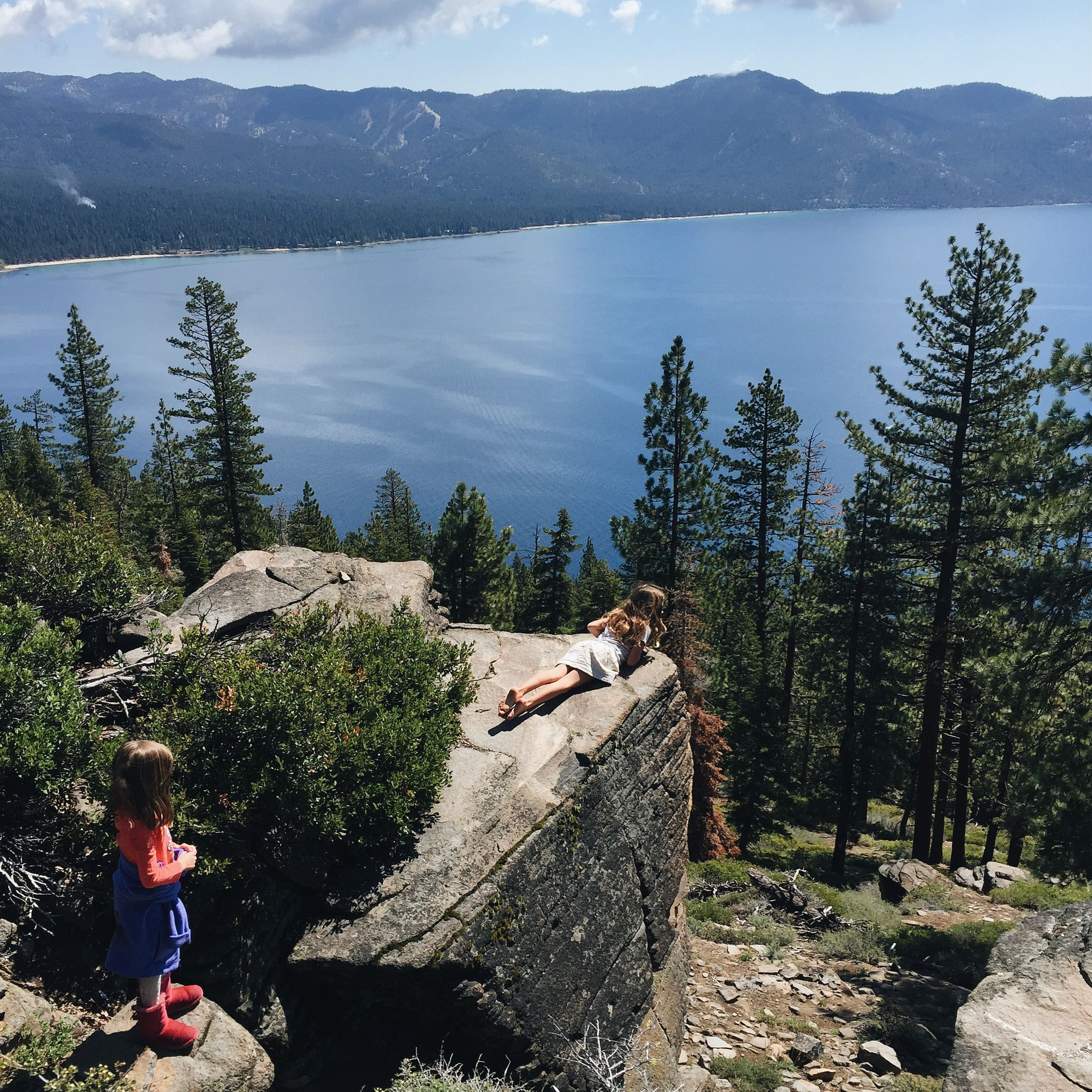 Gorgeous Hike Stateline Fire Lookout Lake Tahoe Great