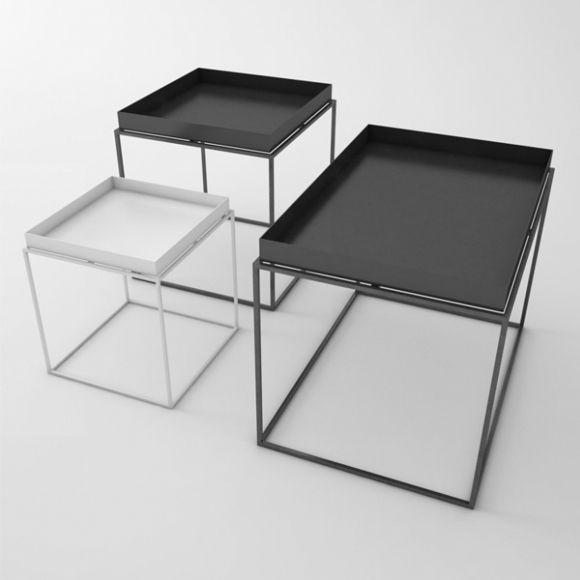 Tray Table 40cm Black