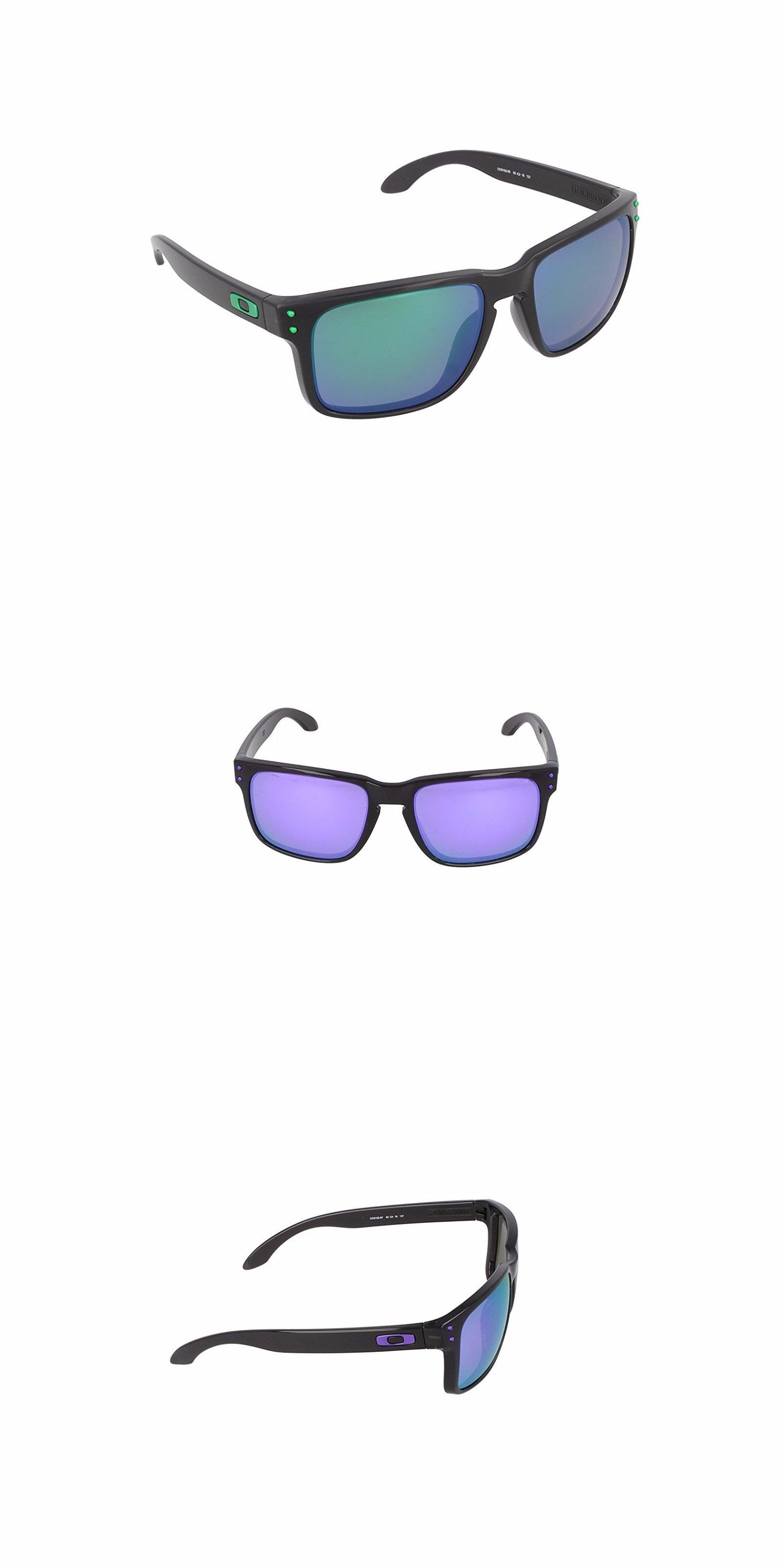 2ba266954358 authentic sunglasses 79720 new oakley holbrook black ink frame w violet  iridium polarized lens oo9102 85994