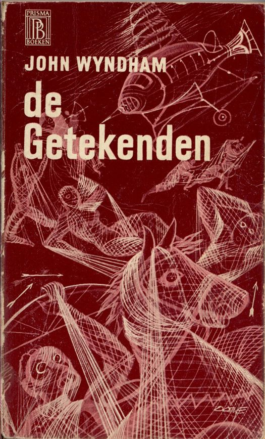 dutch edition of 'the chrysalids' by john wyndham (cover art by eppo doeve)