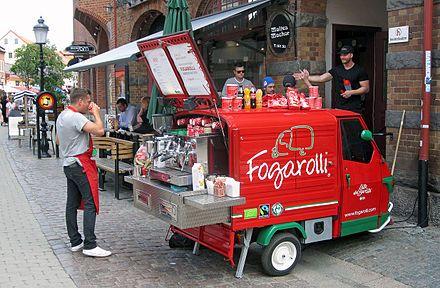 Barista Wikipedia The Free Encyclopedia Coffee Truck Coffee Food Truck Food Truck Design