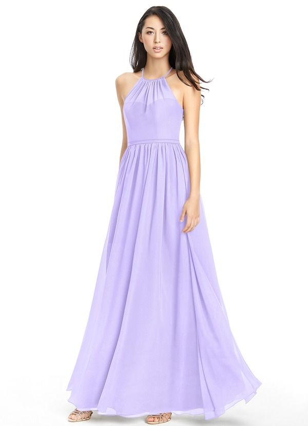 1fb90b9f14b Kailyn is a floor-length A-line bridesmaid dress and one of our  bestsellers.  Bridesmaid  Wedding  CustomDresses  AZAZIE .