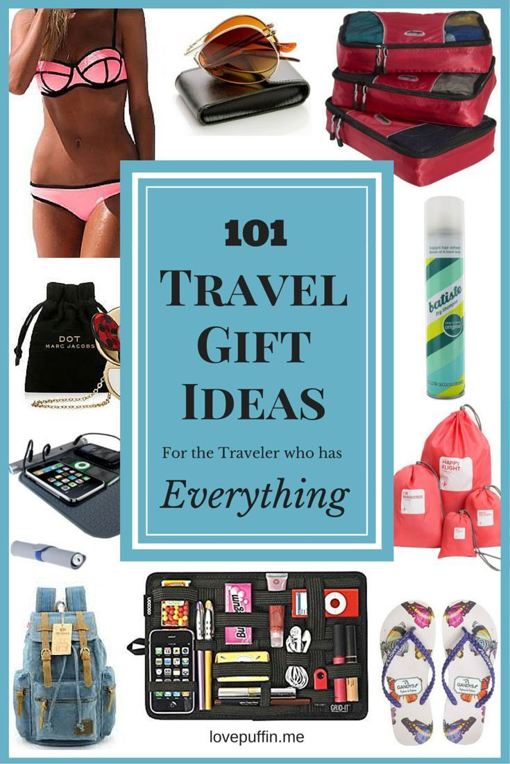 101 Travel Gift Ideas For The Traveller Who Has Everything