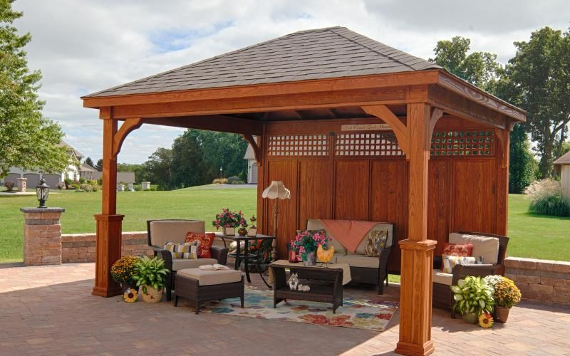 Covered Patio Backyard Pavilion Outdoor Pavilion Backyard Gazebo