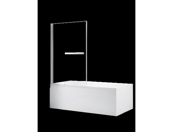 panneau vitr e 34 x 54 pivotant pour bain portes de baignoires bains salles de bain. Black Bedroom Furniture Sets. Home Design Ideas