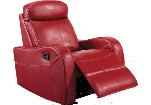 Shop For A Indiana Red Glider Recliner At Rooms To Go Find Recliners That Will Look Great In Your Home An Glider Recliner Affordable Furniture Stores Recliner