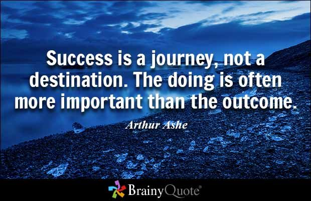 Quotes Journey Magnificent Search Results  Arthur Ashe Success And Success Quotes