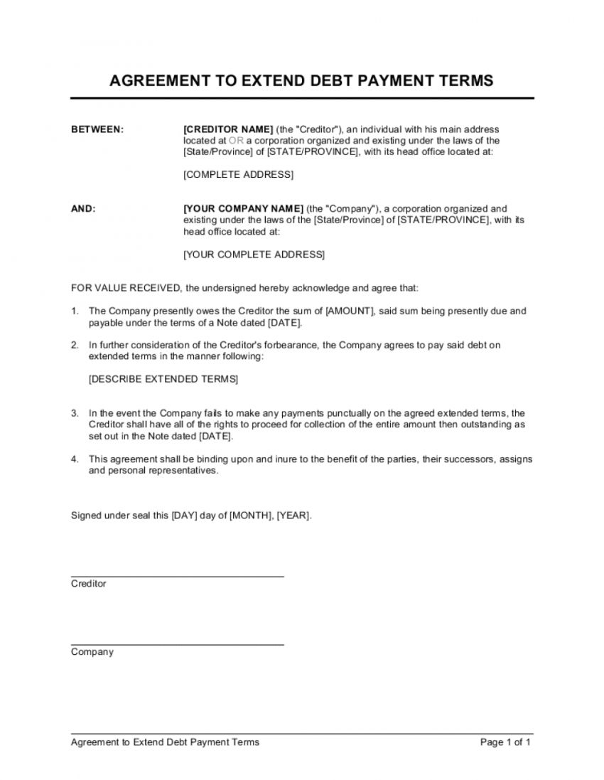 Get Our Sample Of Debt Collection Agreement Template For Free Debt Collection Debt Agreement Payment Agreement