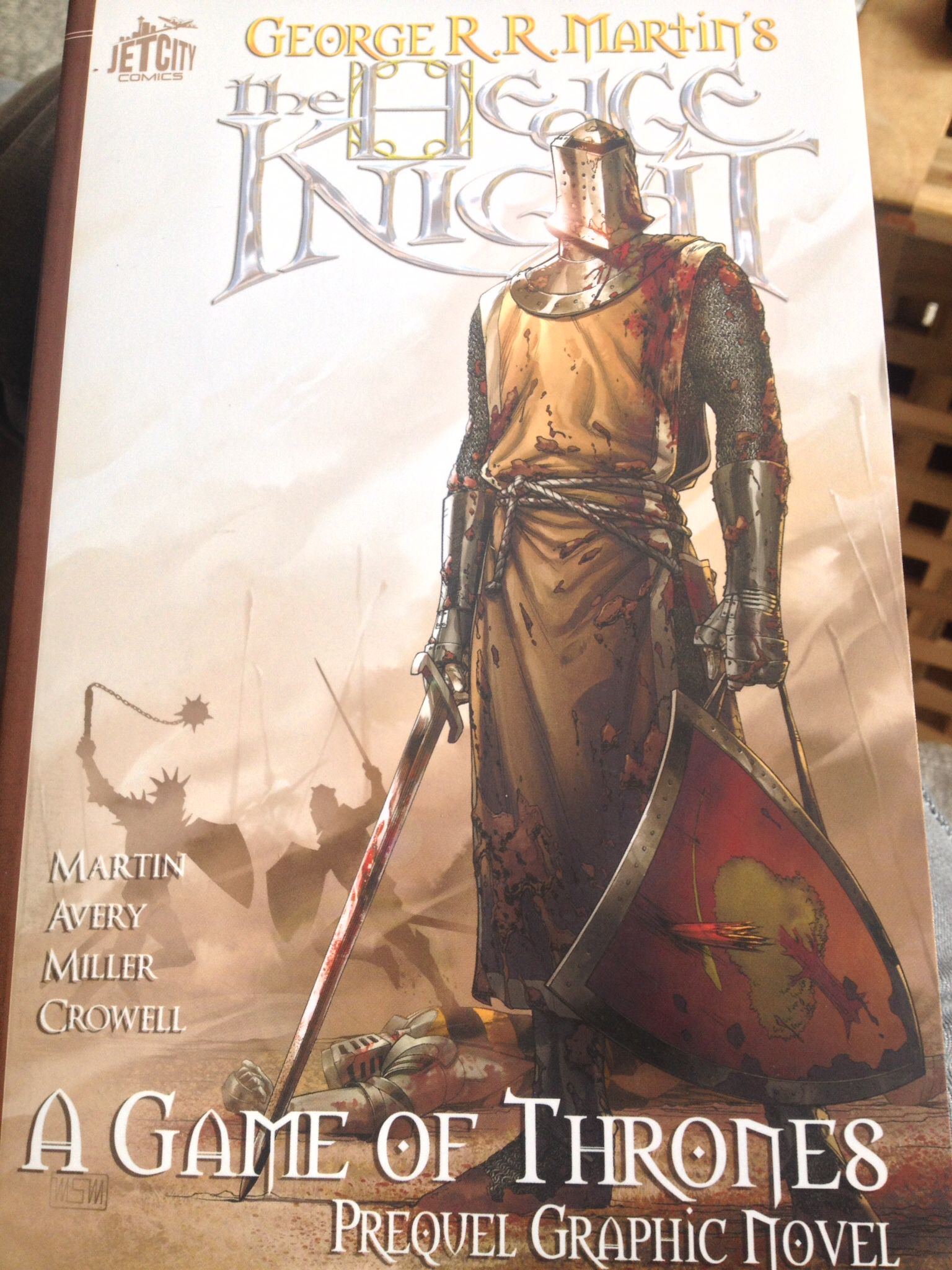 The Hedge Knight Game Of Thrones Prequel Graphic Novel Novel