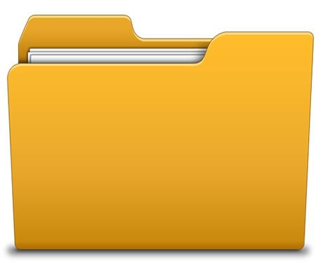 Folder Icon Psd Folder Icon Yellow Folder Icon